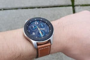 Samsung Galaxy Watch 46mm Lederarmband