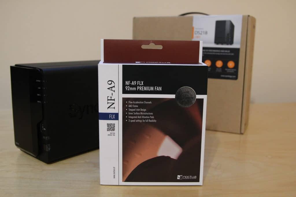 Noctua NF-A9 FLX Verpackung